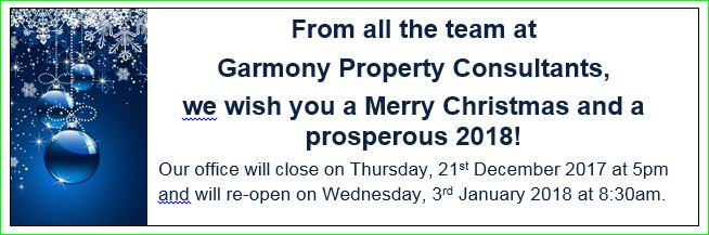 Garmony Property Consultants, Licensed Valuers Christmas