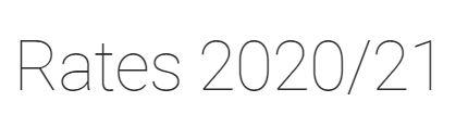 Council Rates 2021